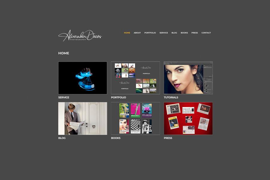 www.alexanderdacos.de geht wieder online!